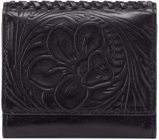 Hobo Stitch Leather Wallet