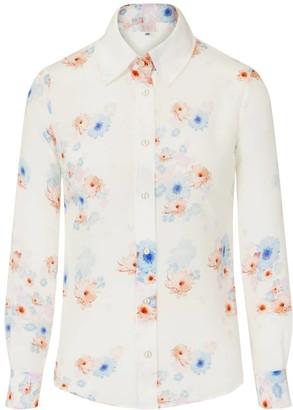 Sophie Cameron Davies Beach Flower Silk Shirt