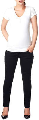 Noppies 'Leah' Over the Belly Slim Maternity Jeans
