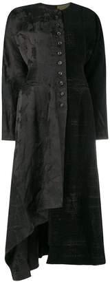 Uma Wang high low hem coat