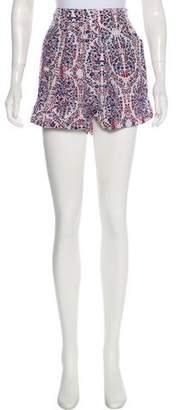 Rebecca Taylor Silk Mini Shorts