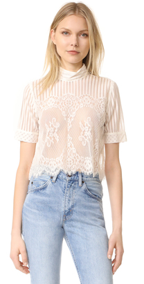 Stone Cold Fox Rossa Crop Top $250 thestylecure.com