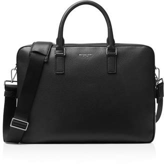 Michael Kors Pebbled Leather Briefcase