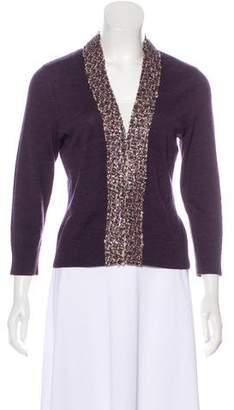 Tory Burch Open Front Wool Cardigan w/ Tags