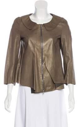 Marni Leather Casual Jacket