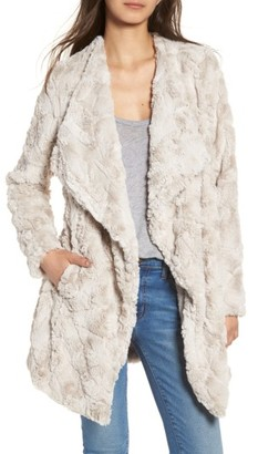 BB Dakota Women's Tucker Wubby Faux Fur Coat