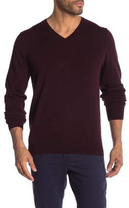 Perry Ellis Solid V-Neck Sweater