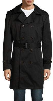 Lauren Ralph Lauren Edmond Double-Breasted Raincoat