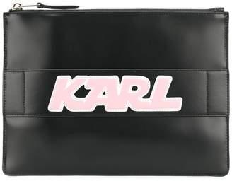 Karl Lagerfeld K/Sporty clutch bag