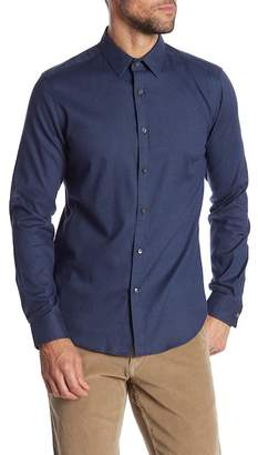 Theory Zack Front Button Regular Fit Woven Shirt