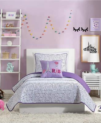 Nanette Lepore Urban Playground Joceline Twin Quilt Set - 2 Piece Bedding