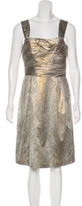 Diane von Furstenberg Treenie Brocade Dress