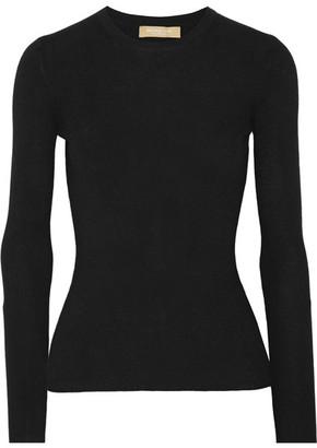 Michael Kors Collection - Cashmere Sweater - Black $595 thestylecure.com