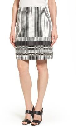 Women's Boss Vemala Stripe Boucle Suit Skirt $335 thestylecure.com