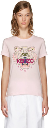 Kenzo Pink Limited Edition Tiger T-Shirt $115 thestylecure.com