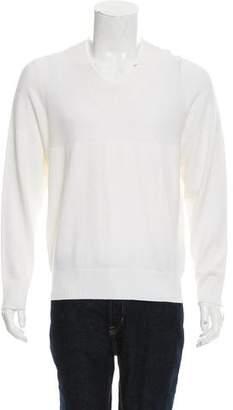Kent & Curwen Rib Knit V-Neck Sweater w/ Tags