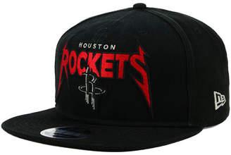 New Era Houston Rockets 90s Throwback Groupie 9FIFTY Snapback Cap