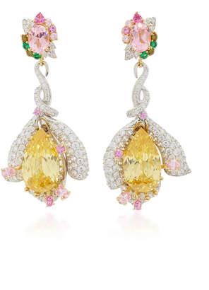 8b25d9dad Yellow Stone Drop Earrings - ShopStyle UK