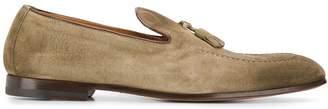 Doucal's fringe detail loafers