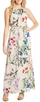 Karen Kane Shirred Floral-Print Maxi Dress