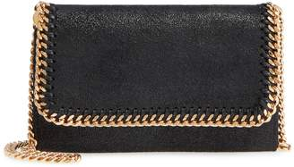 Stella McCartney Shaggy Deer Faux Leather Crossbody Bag