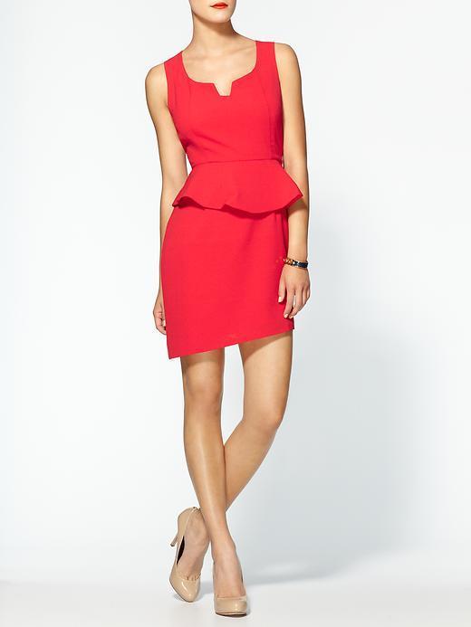 C.Luce Peplum Mini Dress