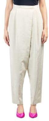 Stella McCartney Moire Cross-Front Pants