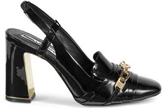 Karl Lagerfeld Paris Georgie Ankle Strap Pumps