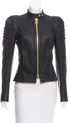 Tom Ford Structured Leather Jacket