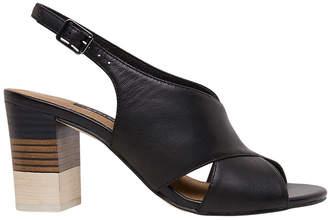 Mandala Black Sandal