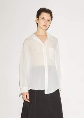 Nocturne #22 Asymmetric Button Front Shirt