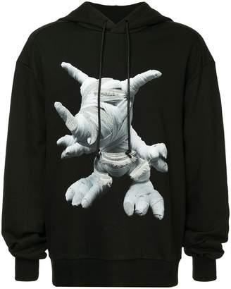 Juun.J printed hoodie