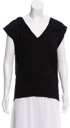Elise Overland Sleeveless Hooded Sweatshirt
