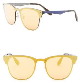 Ray-Ban 41mm Square Shield Sunglasses
