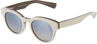 Salt Lorna Round Acetate Sunglasses