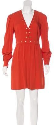 Rachel Zoe Embellished Mini Dress