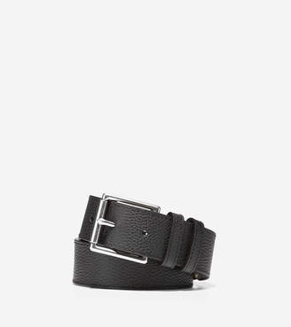 Cole Haan 35mm Flat Strap Belt with Stitched Edge