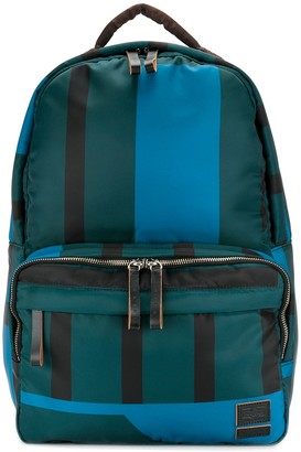Marni x Porter striped backpack