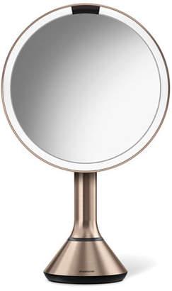 Simplehuman 8&148 Sensor Makeup Mirror with Brightness Control, Rose-Tone
