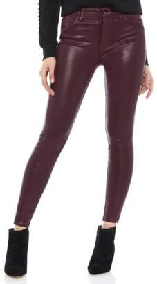 Sam Edelman The Stiletto Coated High Rise Skinny Jeans