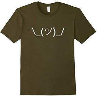 Shrug ASCII Emoticon T-Shirt