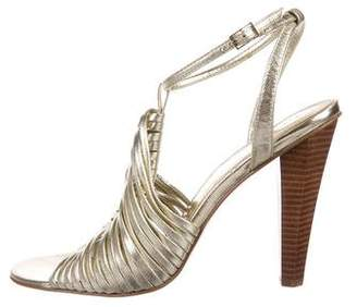 Calvin Klein Metallic Cage Sandals