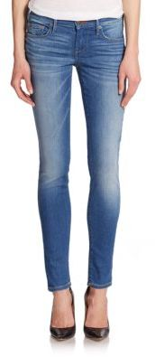 True Religion Casey Low-Rise Skinny Jeans $198 thestylecure.com