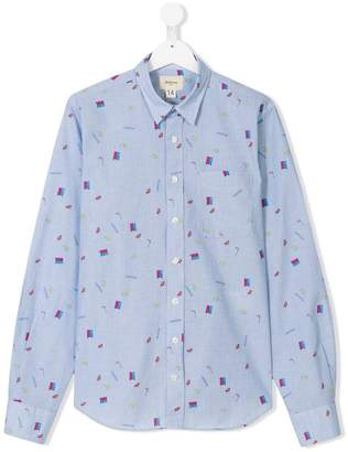 Bellerose Kids TEEN furniture print shirt