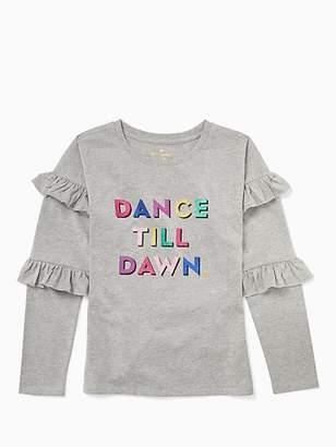 Kate Spade Girls dance till dawn top