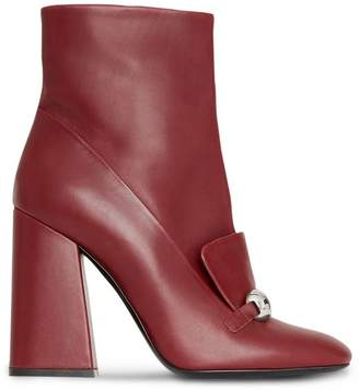 Burberry studded bar ankle boots