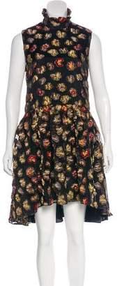 Co Patterned Mini Dress w/ Tags
