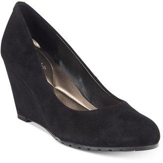 Easy Spirit Claudia Wedge Pumps Women's Shoes $79 thestylecure.com