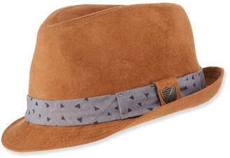 Fore Boys' Sueded Fedora Hat