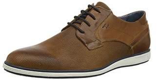 Dune Men's Bamfield Derbys, Brown Tan-Leather, 8 (42 EU)